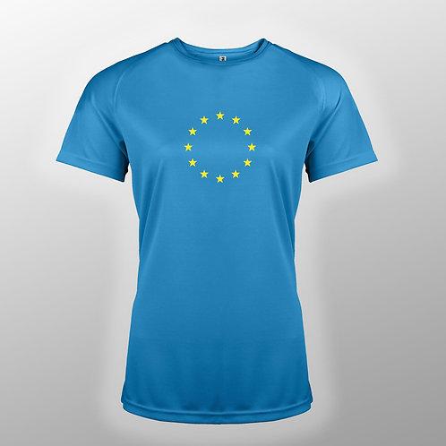 Pro EU Sports T Shirts | Ladies Pro EU T Shirt | Anti Brexit Merchandise | European Union Gift Shop