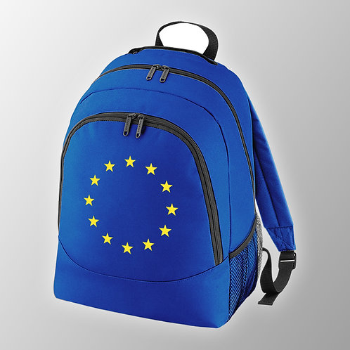 Pro EU Flag of Europe Back Pack | Bag | European Union Merchandise | Remain Gifts | Stop Brexit Shop | Europe Merch