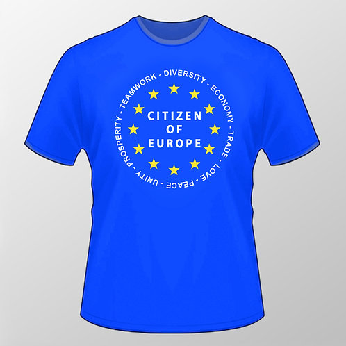 Reasons To Remain T Shirt | European Union | Stop Brexit Merchandise