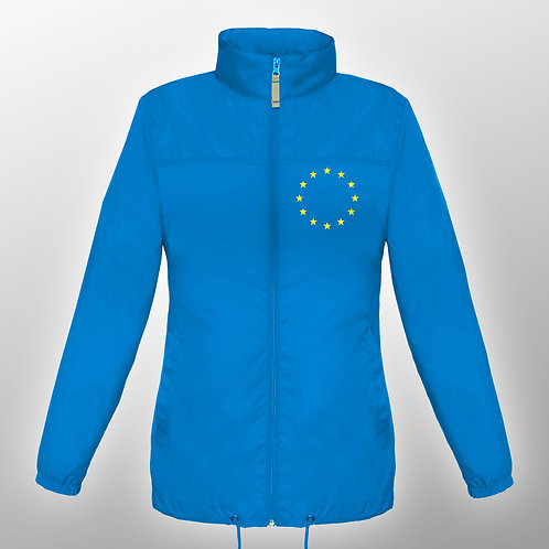 Pro EU Ladies Wind Proof Jacket | Winter | Coat | Clothing | Apparel | Gifts | Merchandise | European Union | Anti Brexit