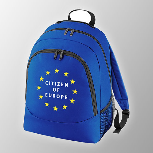 Pro EU Citizen of Europe Back Pack | Bag | European Union Merchandise | Remain Gifts | Stop Brexit Shop | Europe Merch
