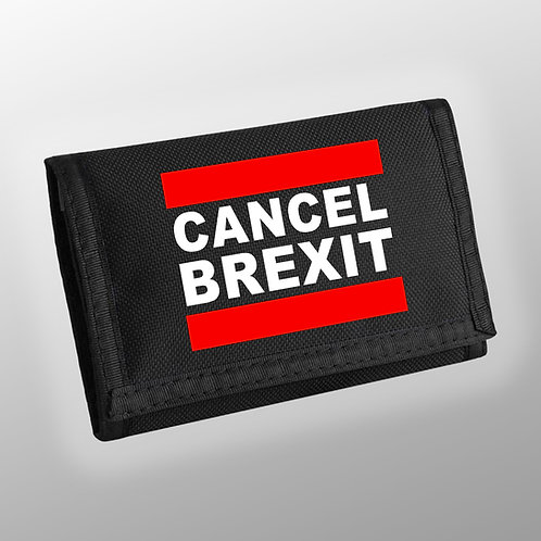 Anti Brexit CANCEL BREXIT Wallet | European Union Merchandise | Remain Gifts | Stop Brexit Shop | Europe Merch | Money | Euro