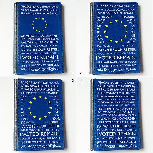 Multi Language Passport Cover - Various Designs