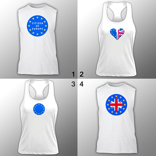 European Union Running / Gym Vests
