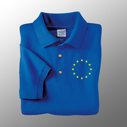 EU Polo Shirt | Pro EU Clothing | Ryder Cup Merchandise | Peoples Vote Clothing | I Heart EU