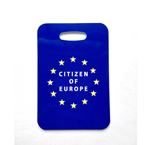 Citizen of Europe Luggage Tag