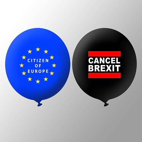 Pro EU Balloons | European Union Flag Merchandise | Stop Brexit | Cancel Brexit | Citizen of Europe
