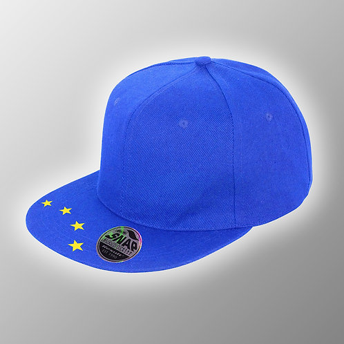 Pro EU Flat Peak Hat | European Union Merchandise | Remain Gifts | Stop Brexit Shop | Europe Merch