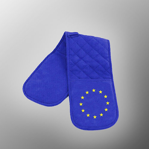 Pro EU Oven Gloves | Anti Brexit Merchandise | Stop Brexit Gifts | European Union Fashion