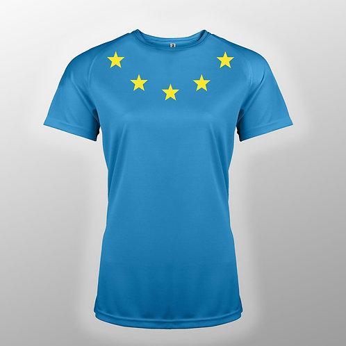 Pro EU Sports Fashion T Shirts | Ladies Pro EU T Shirt | Anti Brexit Merchandise | European Union Gift Shop