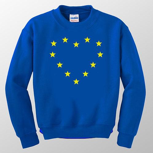 'Heart EU' Pro EU Sweatshirt