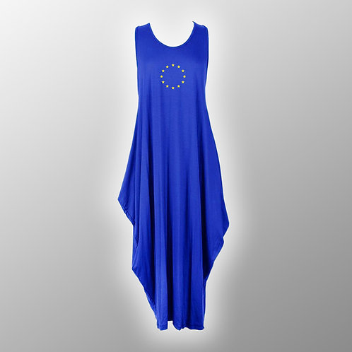 Pro EU Parachute Dress   Anti Brexit Clothing   Fashion   Apparel   European Union Flag