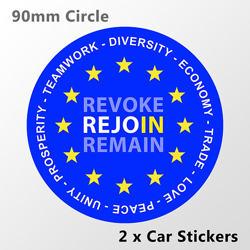 REJOIN Car Stickers