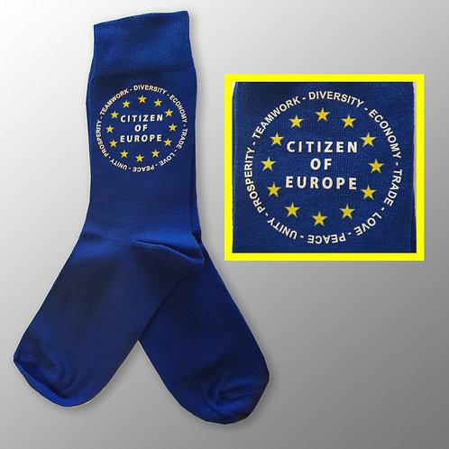 Pro EU Reasons to Remain Socks | European Union Merchandise | Remain Gifts | Stop Brexit Shop | Europe Merch