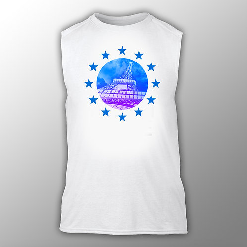 'Viva Europa' #001 Vest - Men's and Ladies Styles