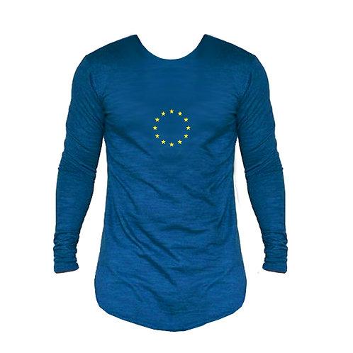 Men's EU Long Sleeved Fashion T Shirt
