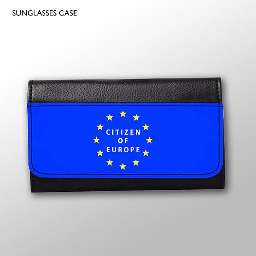'Citizen of Europe' - Sunglasses Case