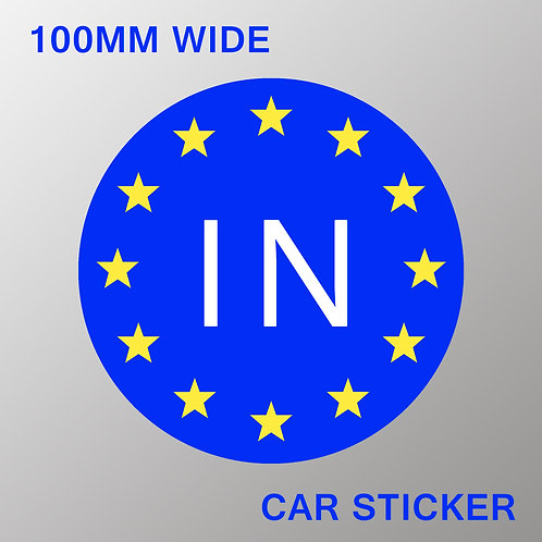 IN Car Stickers
