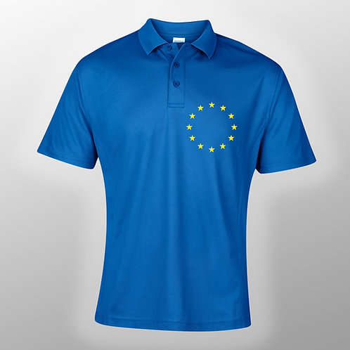 Pro EU Sports Polo Shirt | Anti Brexit Merchandise | Gifts | Clothing | T Shirt | European Union