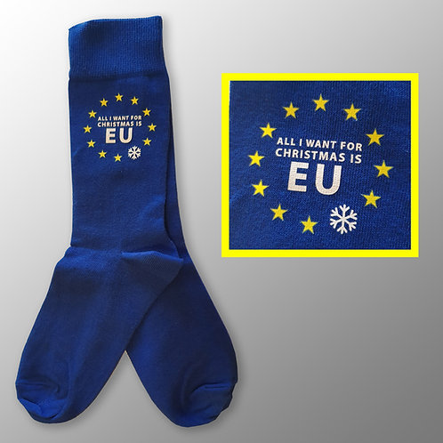 All I Want For Christmas is EU Socks