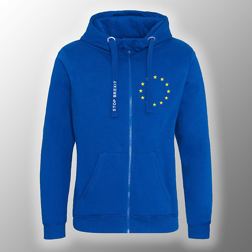 Stop Brexit Pro EU Hoodie | Zoodie | Jacket | Coat | Clothing | Apparel | Gifts | Merchandise | European Union | Anti Brexit