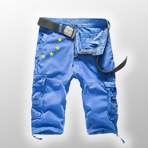 Pro EU Cargo Shorts | European Union Merchandise | Remain Gifts | Stop Brexit Shop | Europe Merch | Swimming Shorts
