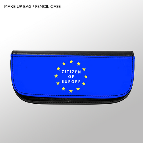 'Citizen of Europe' - Make-up Bag / Pencil Case