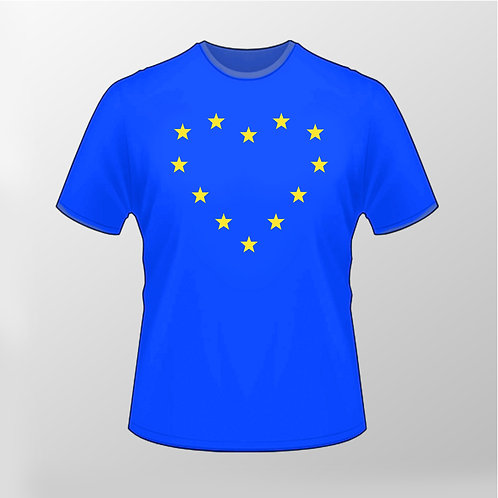 Heart EU T Shirt