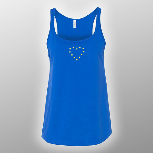 Pro EU Ladies Summer Dress Blue | European Union Merchandise | Remain Gifts | Stop Brexit Shop | Europe Merch