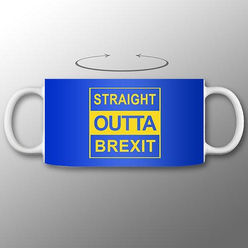 Straight Outta Brexit Mug