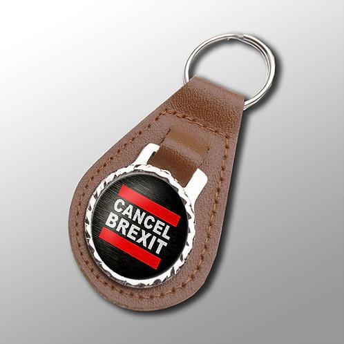Anti Brexit Keyring | Stop Brexit | Pro EU Merchandise | Gifts | Keyfob