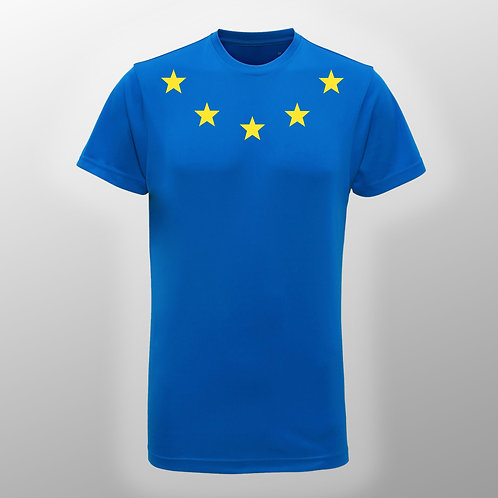 Pro EU Sports T Shirts | Mens Pro EU T Shirt | Anti Brexit Merchandise | European Union Gift Shop