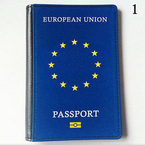 Passport Cover - Official Style Various Languages