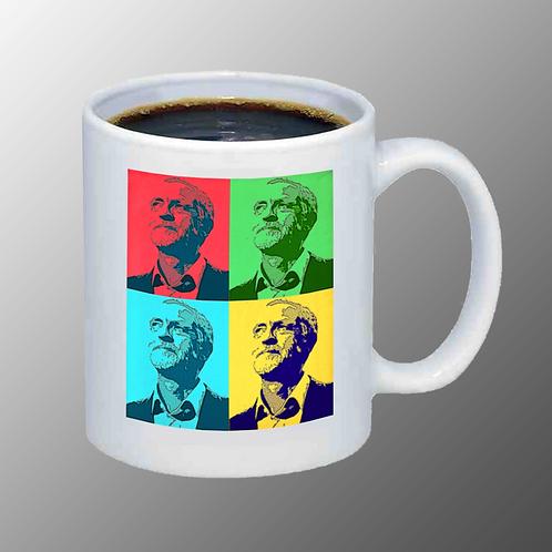 'JC Pop Art' Mug