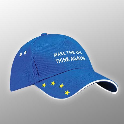 Make The UK Think Again Pro EU Hat / Cap