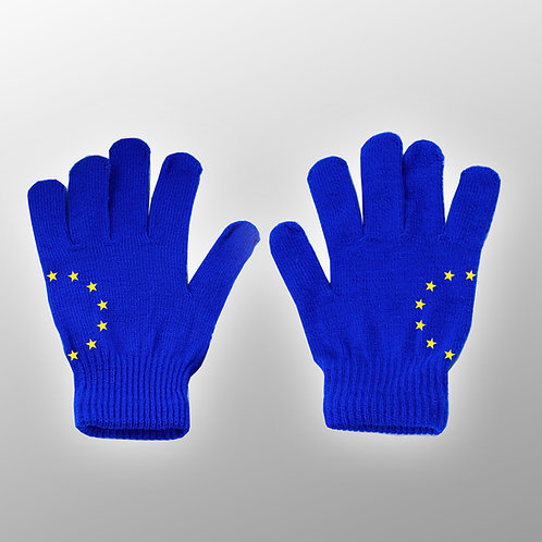 Pro EU Gloves | Winter Clothing | Anti Brexit Merchandise | European Union Gifts