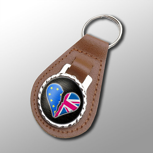 Anti Brexit NOT IN MY NAME Keyring | Stop Brexit | Pro EU Merchandise | Gifts | Keyfob