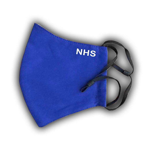 NHS Face Mask (small text) | Five Filters Included