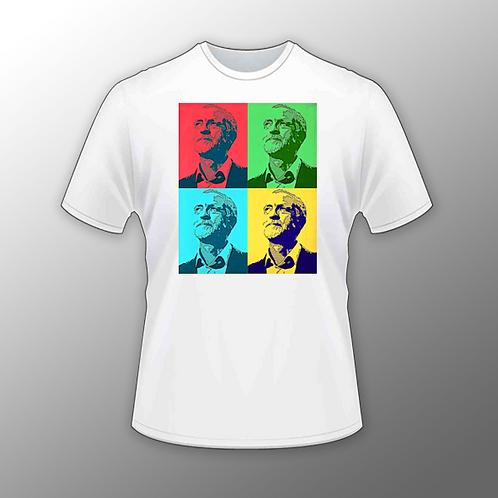 'Jeremy Corbyn Pop Art' T Shirt