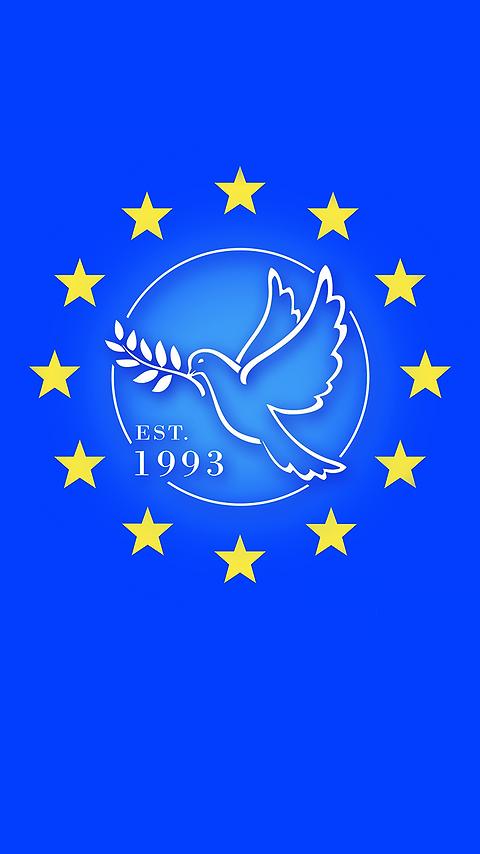 Mobile Phone Free Wallpaper | Dove of Peace | Pro EU | Anti Brexit