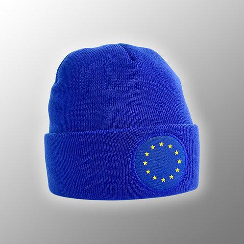 EU Beanie | EU Flag Hat | Pro EU Merchandise | Stop Brexit | I Heart EU