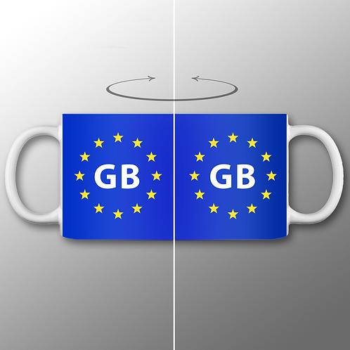 Pro EU GB Mug | European Union Merchandise | Remain Gifts | Stop Brexit Shop | Europe Merch