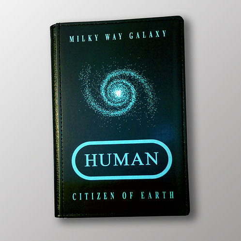 Passport Cover - HUMAN - CITIZEN OF EARTH