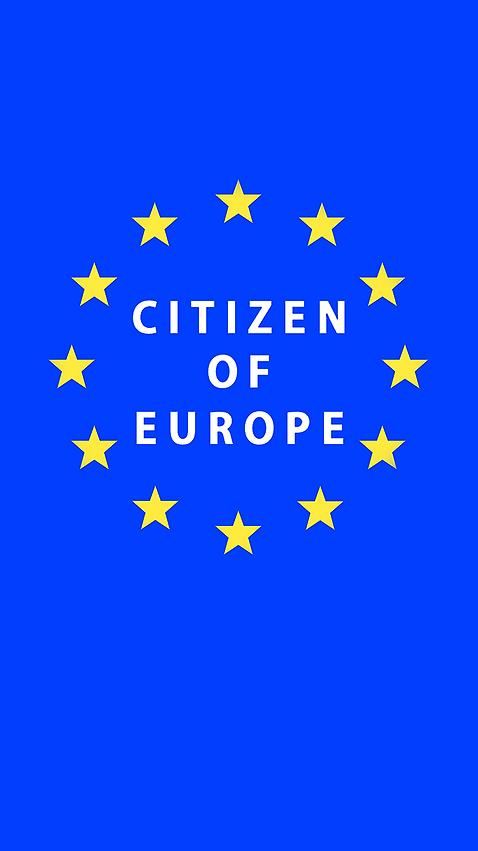 Mobile Phone Free Wallpaper   Citizen of Europe   Pro EU   Anti Brexit
