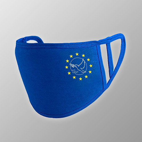 Dove of Peace Face Mask | European Union Face Cover | EU Merchandise | Anti Brexit Apparel