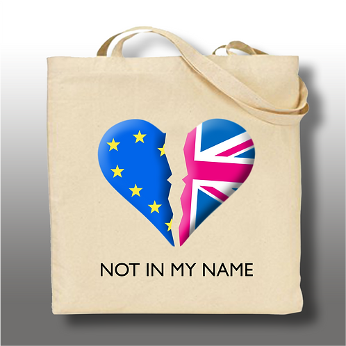 'Not In My Name' Tote Bag