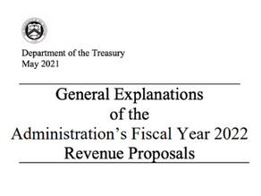 Treasury Specifics on Tax Proposals - Release Green Book