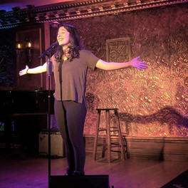 Dress rehearsal for Feinstein's/54 Below performance