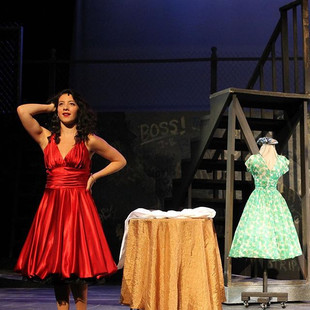 Anita in West Side Story