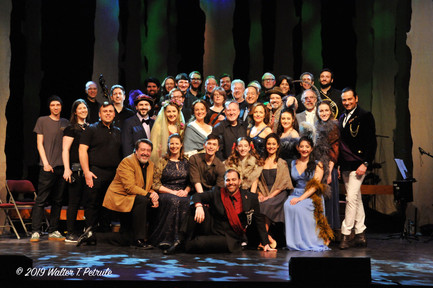 Cast of Into the Woods at the Patchogue Theater